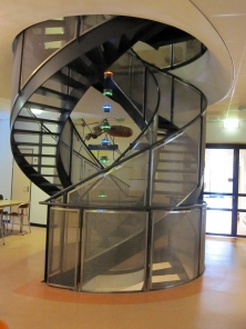 The famous DNA staircase of the NCMLS
