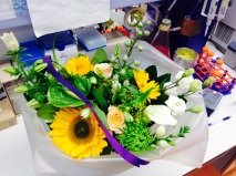Beautiful dutch flowers for farewells !