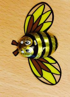 Ronald brought back chocolate Bees from Leiptzig!